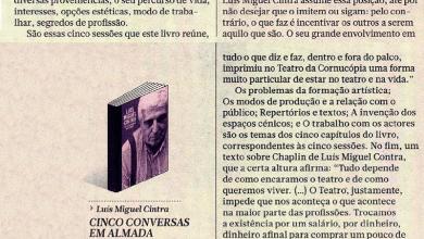 A sabedoria de Luís Miguel Cintra