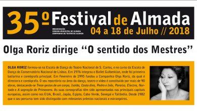 35.º Festival de Almada já tem Mestra: Olga Roriz