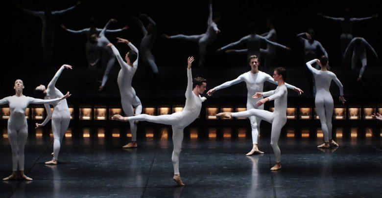 Ensaio do espectáculo de dança QUINZE BAILARINOS E TEMPO INCERTO.